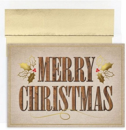 Holiday Cards - Regional Holiday Collection - Western Merry Christmas