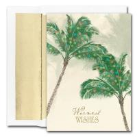 Holiday Cards - Regional Holiday Collection - Palm Trees Warmest Wishes
