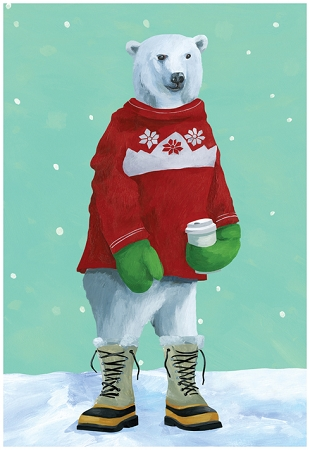 Holiday Cards - Nature - POLAR EXPRESSO