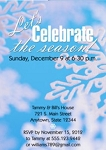 Invitations - Holiday Themed Invites - Snow Wishes