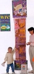 6' GIANT TOY FILLED EASTER STOCKING - DELUXE