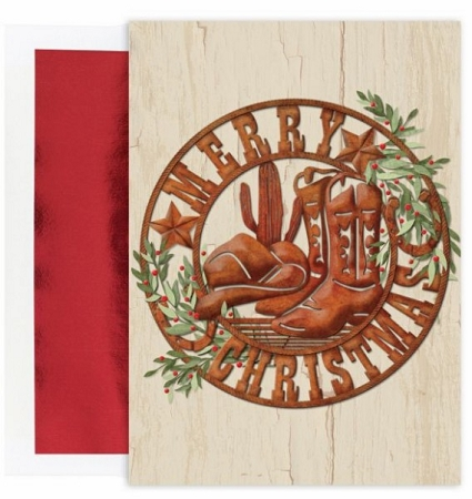 Holiday Cards - Regional Holiday Collection - Texas Sized Christmas