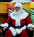 Holiday Cards - Santa Christmas Collection - The Sitting Santa