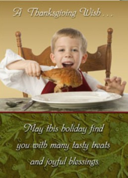 Holiday Cards - Thanksgiving Collection - The Drumstick