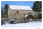 Holiday Cards - New England Grist Mill (pack of 10)