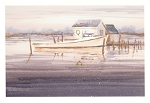 Holiday Cards - Nautical Cards-Work Boat in Snow (pack of 10)