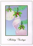 Holiday Cards - Nautical Cards - Shell Ornaments Holiday Cards - pack of 10