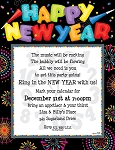 NEW YEARS PAPER - Happy New Year Party