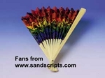 CHOOSE YOUR DESIGN - Stock DESIGN fans - Pack of 6