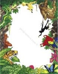 ANIMAL PAPER:  Wild Animals Letterhead