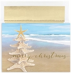Holiday Cards - Regional Holiday Collection - Beach Tree