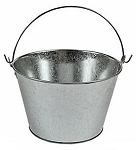 Metal Large Galvanized Scrap Pail