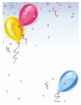PARTY PAPER: Balloons