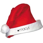 SANTA HAT with Imprint - Pack of 25