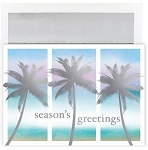 Holiday Cards - Regional Holiday Collection - Sparkling Palm Trees