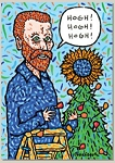 Holiday Cards - Humorous Christmas Cards - VAN GOGH