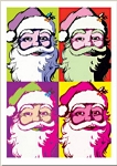Holiday Cards - Humorous Christmas Cards - DECK THE WARHOLS