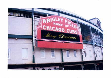 Holiday Cards - Regional Christmas Collection - Wrigley Field
