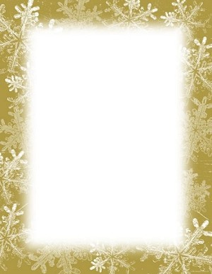 CHRISTMAS PAPER - Economy Frosted Holiday Wishes
