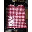RED CHECK / GINGHAM BIBS ARE BACK!