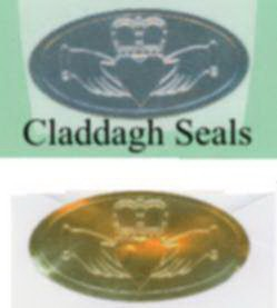 Claddagh Envelope Seals
