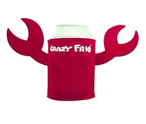 Can Coolers - imprinted CLAW COOZIES - 150 piece minimum