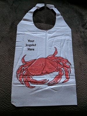 BIB-B2C | Discount at 25 or More | Name drop on CRAB Bibs