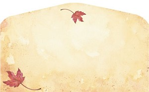 FALL PAPER: Fall Leaves Envelopes