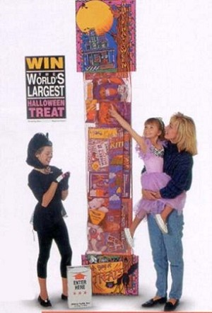8' GIANT TOY FILLED HALLOWEEN STOCKING - STANDARD