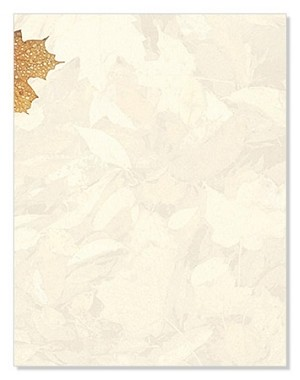 FALL PAPER: Crushed Leaves