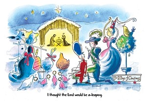 holiday cards humorous religious christmas cards lords of leaping - Religious Christmas Cards
