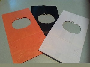 Luminary Bags - Pumpkin