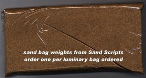 SAND WEIGHT BAGS