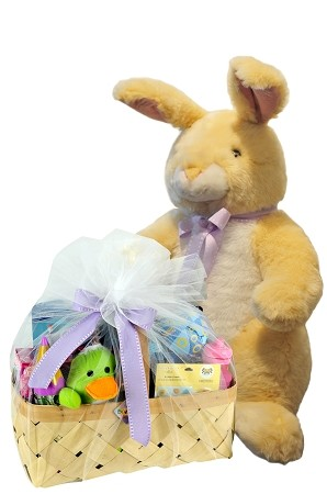 Giant Easter Plush with Toys