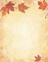 FALL PAPER: Fall Leaves