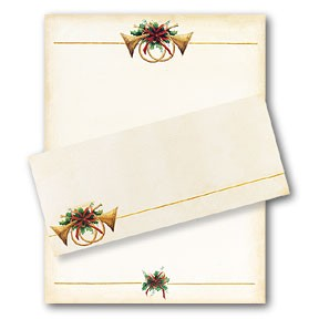 HOLIDAY PAPER - Antique Horns