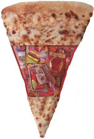 GIANT PIZZA SLICE - Toy filled for fun for BOYS and GIRLS!