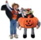 Giant PUMPKIN Plush with Toys