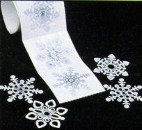 Envelope Seals with PRISM-SNOWFLAKES - pack of 100