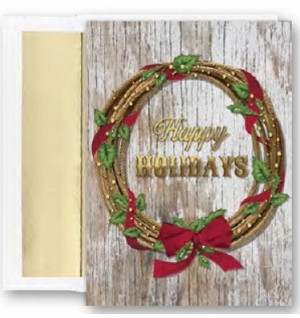 Holiday Cards - Regional Holiday Collection - Southwest Wreath